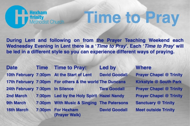 Time to Pray Flier for Website